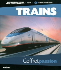 Vignette du livre Trains + CD Rom - Dominique Le Brun