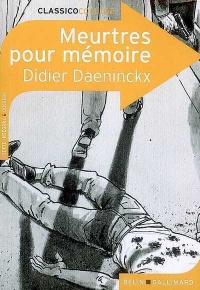 Meurtres pour Mémoire - Didier Daeninckx