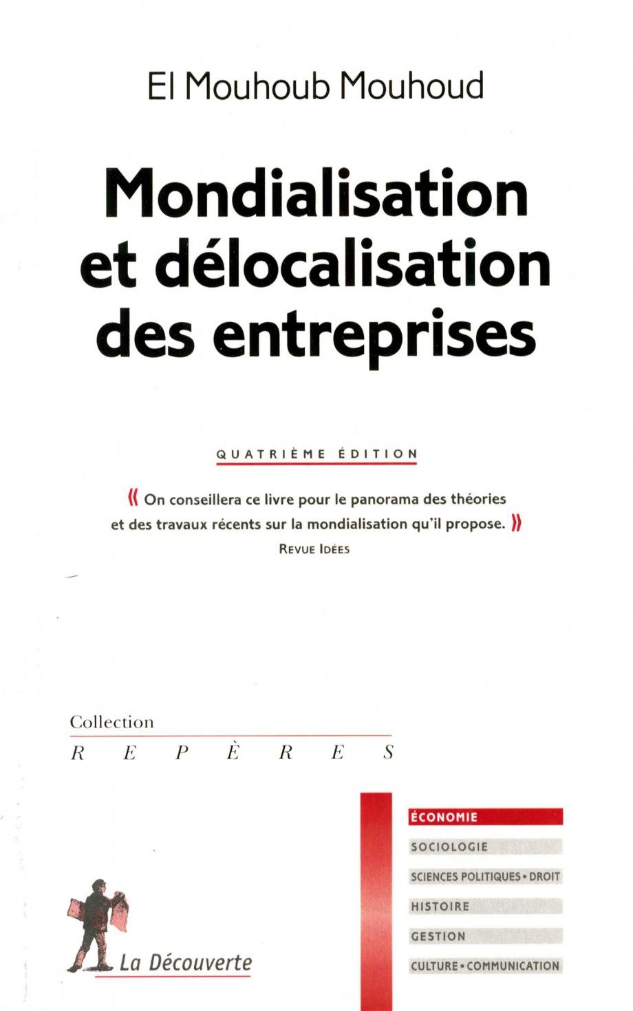 Mondialisation et délocalisation des entreprises - El Mouhoub Mouhoud
