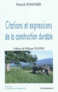 Vignette du livre Citations et Expressions de la Construction Durable