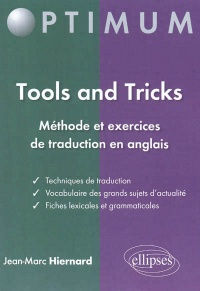 Vignette du livre Tools and tricks: méthode et exercices de traduction en anglais