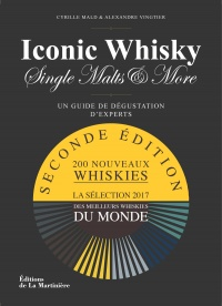 Vignette du livre Iconic Whisky, Single Malts & More : 150 nouveaux whiskies - Cyrille Mald, Alexandre Vingtier, Serge Valentin