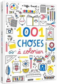 Vignette du livre 1.001 choses à colorier