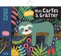 Vignette du livre Jungle : mes cartes à gratter