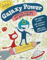 Vignette du livre Galaxy power - Élise Gravel