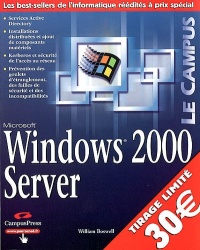 Vignette du livre Windows 2000 Server - William Boswell