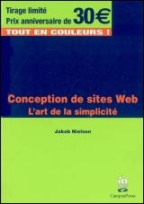 Vignette du livre Conception de sites Web