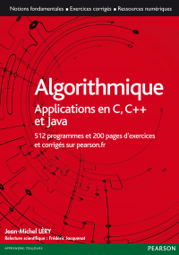 Vignette du livre Algorithmique: applications en C, C++ et Java