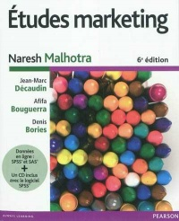 Vignette du livre Études marketing 6e Éd. - Naresh K. Malhotra