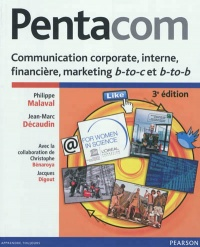 Vignette du livre Pentacom: communication corporate, interne, financière, marketing