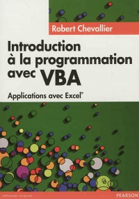 Vignette du livre Introduction à la programmation avec VBA: applications avec Excel