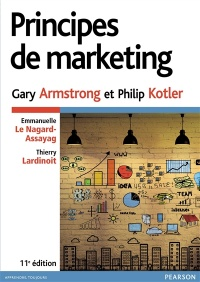 Vignette du livre Principes de marketing  11e Éd.