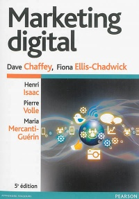 Vignette du livre Marketing digital - Dave Chaffey, Fiona Ellis-Chadwick