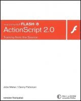 Vignette du livre ActionScript 2.0 et Flash 8 - Jobe / Patterson Makar