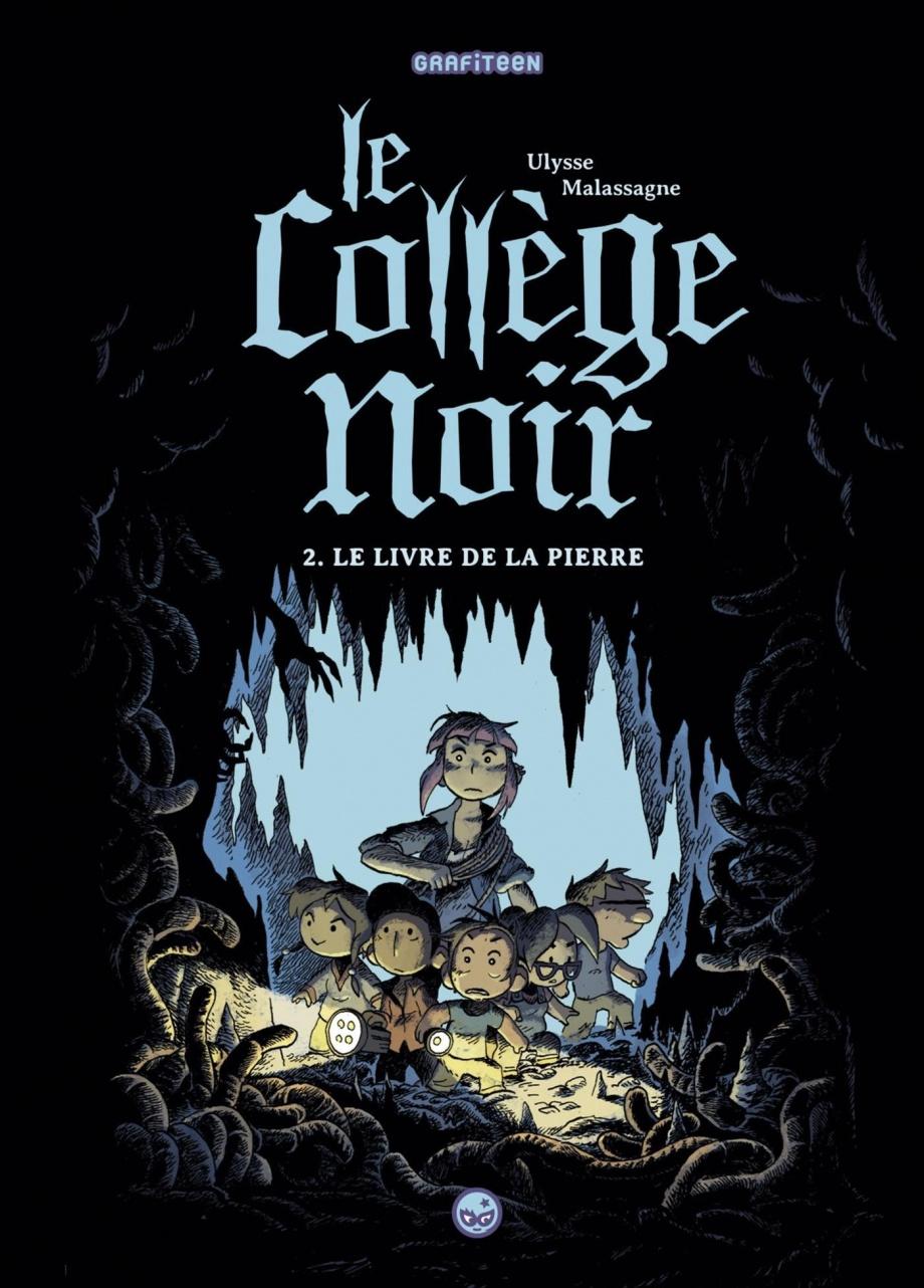 Le College Noir T 2 Le Livre De La Pierre