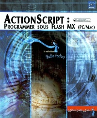 Vignette du livre Actionscript : Programmer sous Flash MX