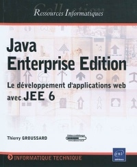 Vignette du livre Java Enterprise Edition : le Développement d'Applications Web Ave