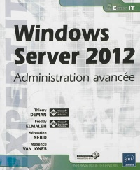 Vignette du livre Windows Server 2012: administration avancée