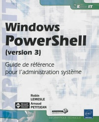 Vignette du livre Windows PowerShell (version 3): guide de référence pour l'admin.