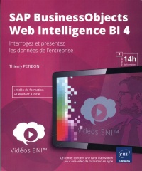 Vignette du livre Vidéo SAP BusinessObjects Web Intelligence BI 4
