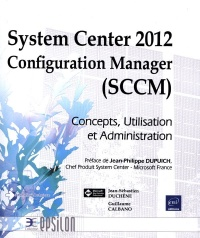 Vignette du livre System Center 2012 Configuration Manager (SCCM)