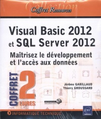 Vignette du livre Visual Basic 2012 et SQL Server 2012