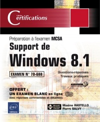 Vignette du livre Support de Windows 8.1: préparation à la certification MCSA, exam