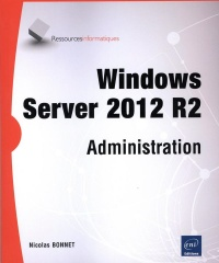 Vignette du livre Windows Server 2012 R2: administration