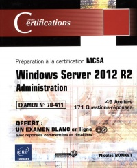 Vignette du livre Windows Server 2012 R2: administration : préparation...