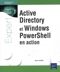 Vignette du livre Active Directory et Windows PowerShell en action - Kais Ayari