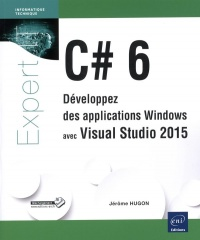 Vignette du livre C# 6: développez des applications Windows avec Visual Studio 2015