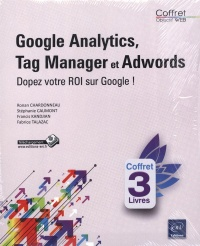 Vignette du livre Google Analytics, Tag Manager et Google AdWords