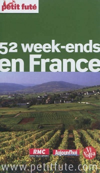 Vignette du livre 52 week-ends en France: 2012-2013