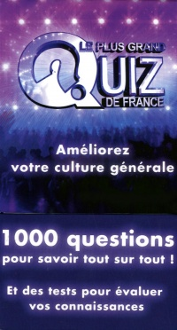 Vignette du livre Coffret Le plus grand Quiz de France