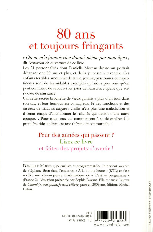 Ces Jeunes De 80 Ans Par Danielle Moreau   Leslibraires.ca