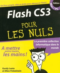 Vignette du livre FLASH CS3