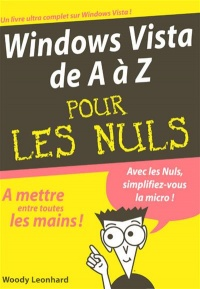 Vignette du livre Windows Vista de a a z