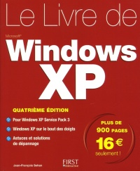 Vignette du livre Livre de Windows XP (Le)