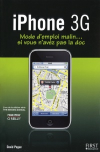 Vignette du livre Iphone 3g - David Pogue