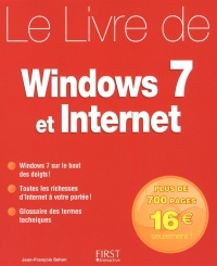 Vignette du livre Livre de Windows 7 et Internet (Le)