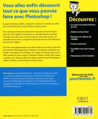 Photoshop CS5 pour les nuls - Peter Bauer revers