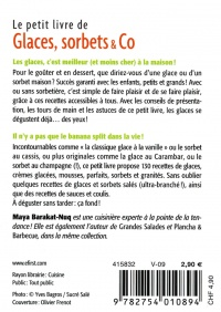 Glaces, sorbets & Co - Maya Nuq-Barakat revers