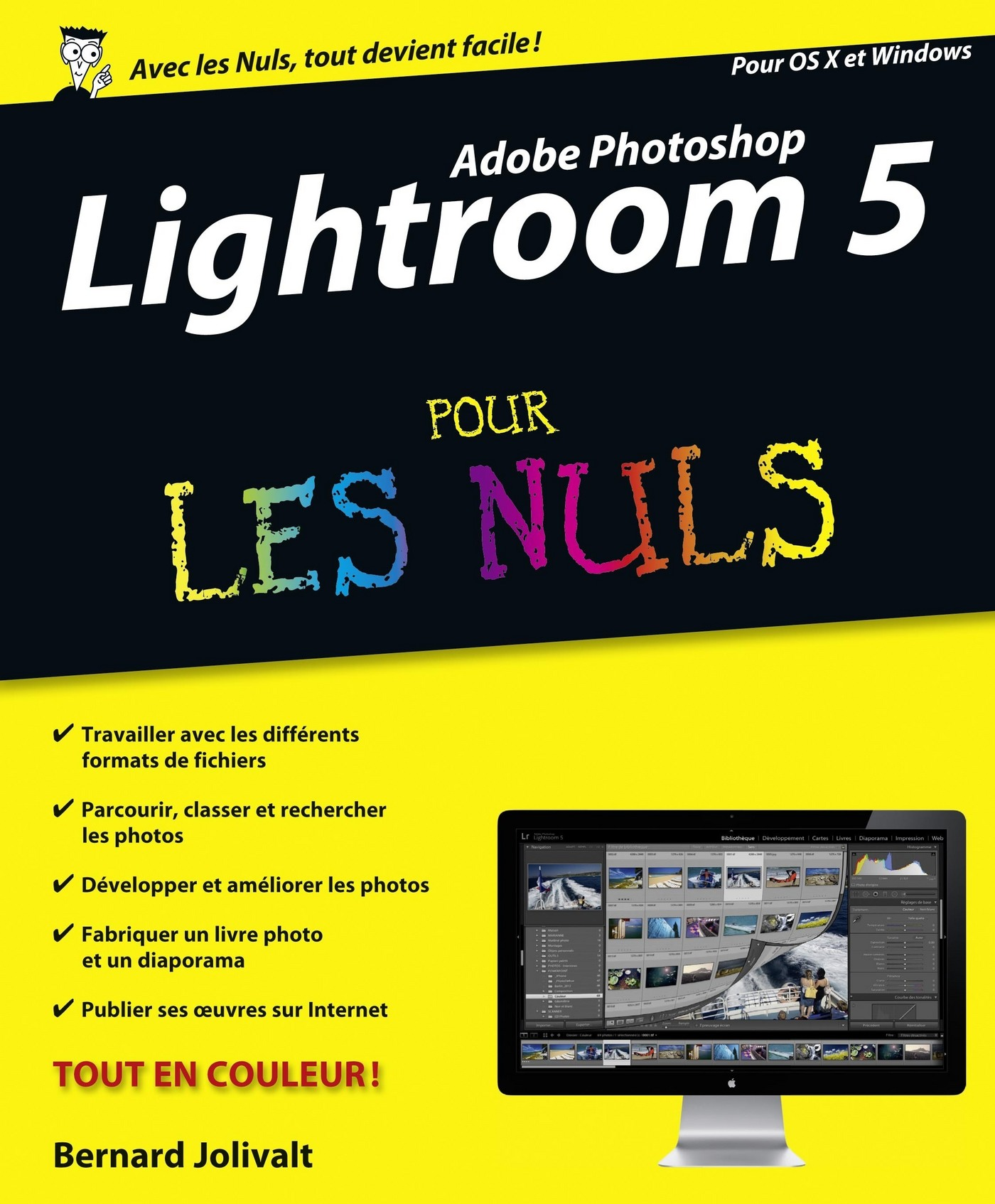 Vignette du livre LIGHTROOM 5..LES NULS ADOBE PHOTOSHOP