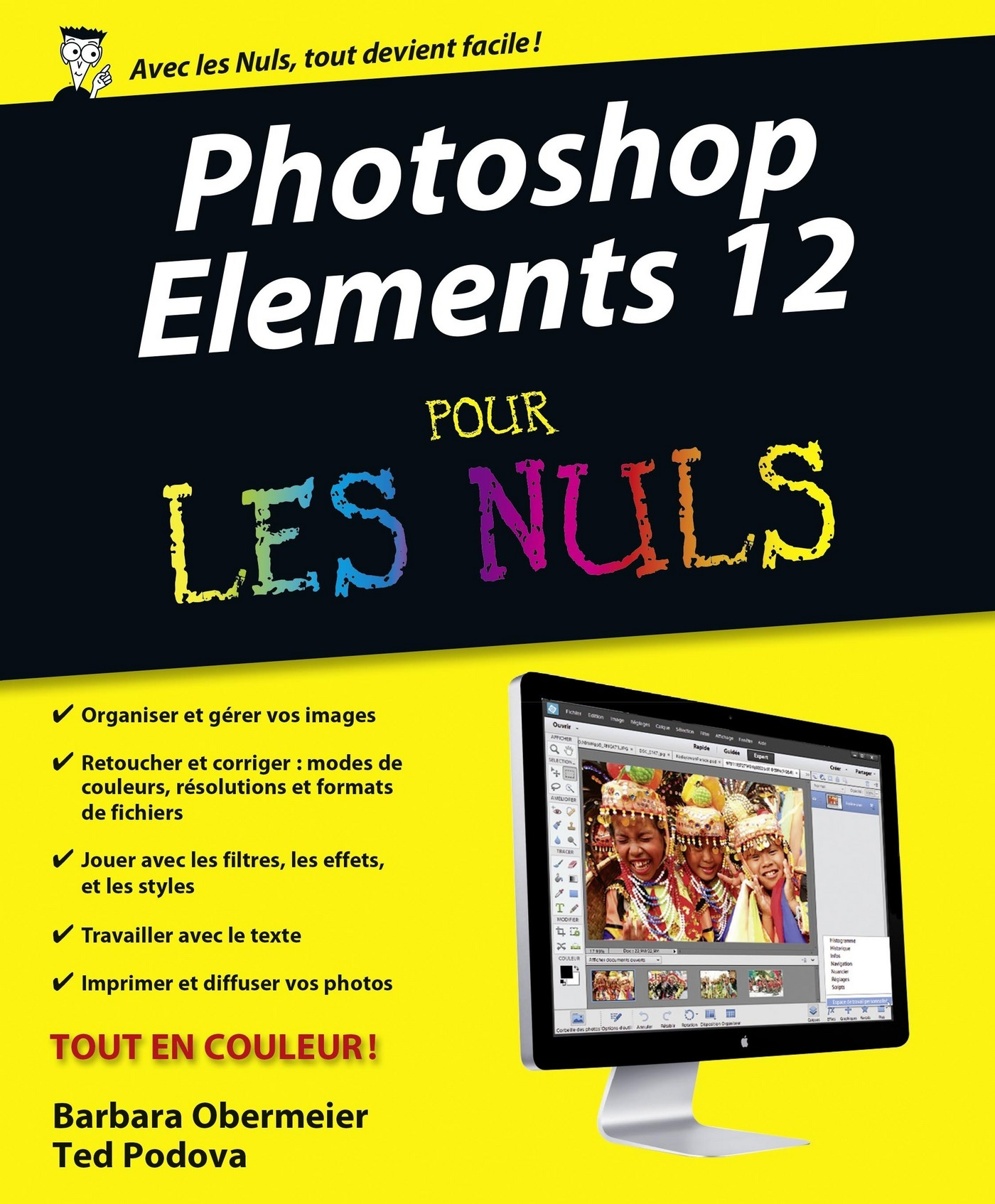 PHOTOSHOP ELEMENTS 12 POUR..NULS, TED PODOVA