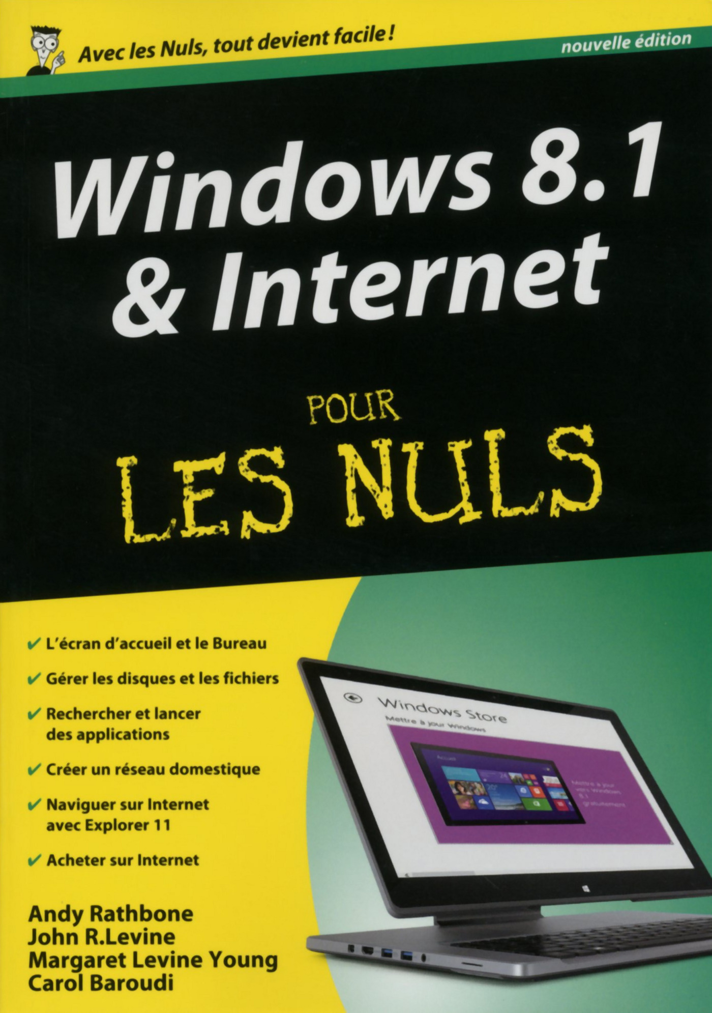 Vignette du livre Windows 8.1 & internet -megapo.. nuls-ne