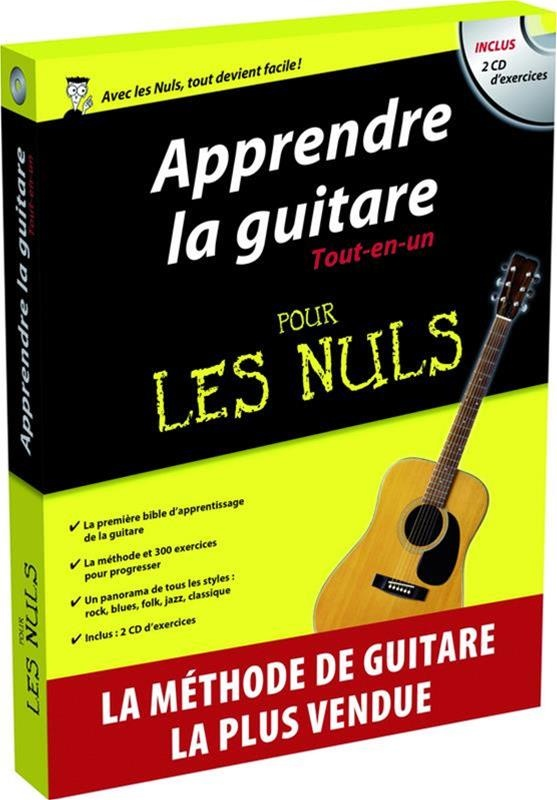 apprendre la guitare tout en un pour les nuls par jon chappell mark phillips marc chalvin. Black Bedroom Furniture Sets. Home Design Ideas