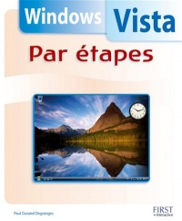 Vignette du livre Windows Vista par Étapes