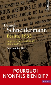 Vignette du livre Berlin, 1933 : la presse internationale face à Hitler