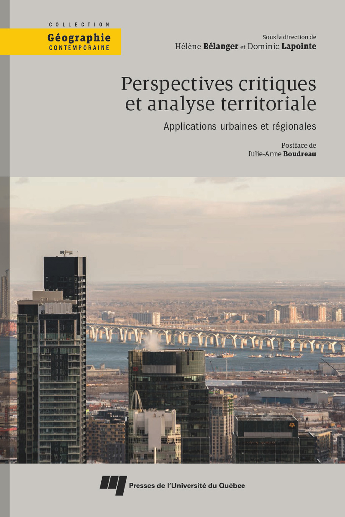 Vignette du livre Perspectives critiques et analyse territoriale : applications