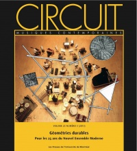 Vignette du livre Circuit, Vol.23 No 3 : Géométries durables